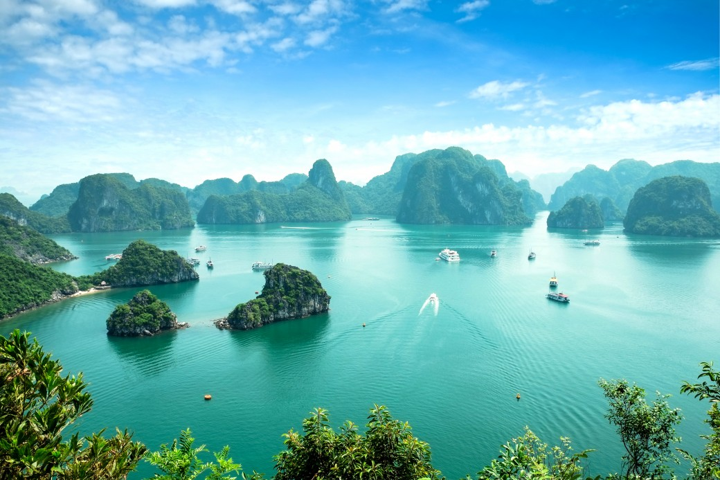 Great value vacations - Halong Bay in Vietnam