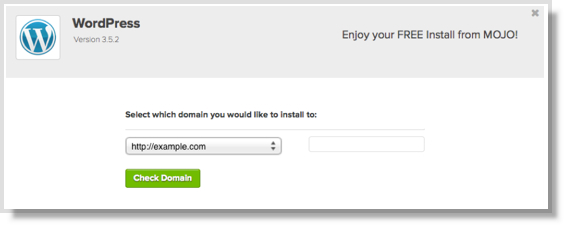 Bluehost choose domain name wordpress