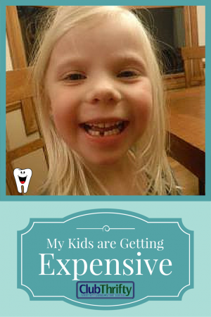 My kids are getting expensive, but they're also worth it. Do you think kids get more expensive as they age?