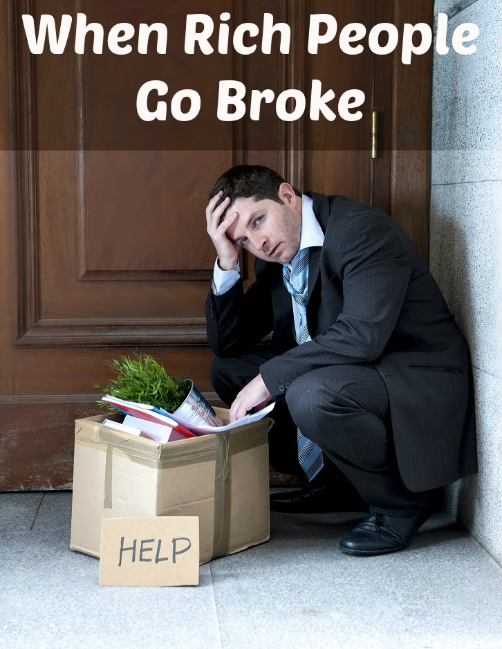 Want to know how rich people go broke? The recipe for financial disaster is always the same. No matter your income, you have to follow this one simple rule.