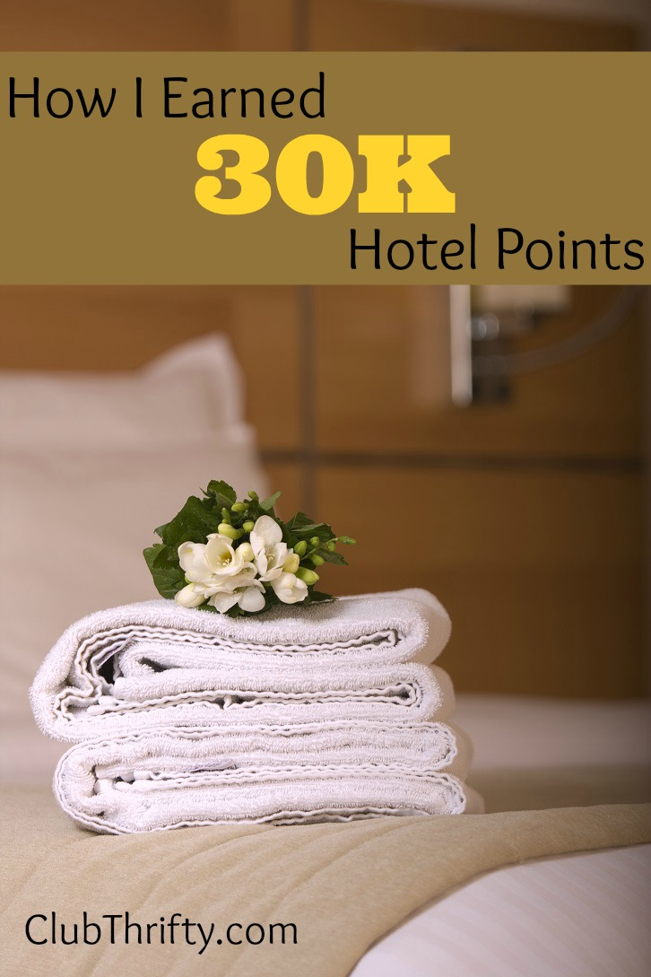 Want to read something badass? Mark stops by to share how he earned 30K hotel points with almost no effort at his favorite hotel chain.