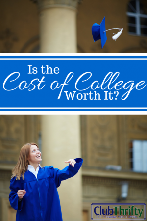 "Is the cost of college worth it? According to the experts, the answer is a resounding ""yes."""