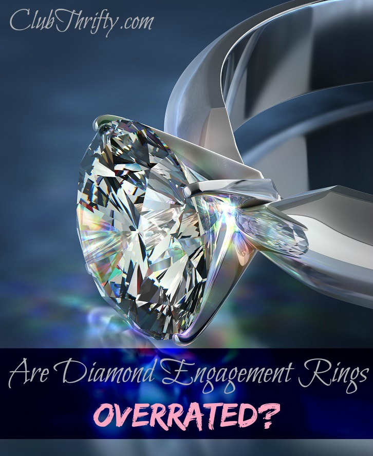 Many people love their diamond rings, while others think that they are a good investment. But is that true? Are diamond engagement rings overrated?