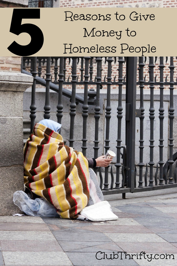 5 reasons it u0026 39 s okay to give money to homeless people