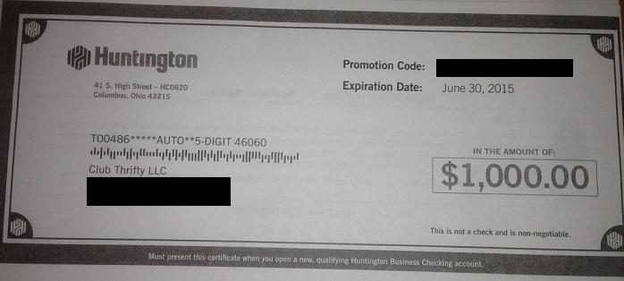I made $1,000 last week with this sweet bank bonus!