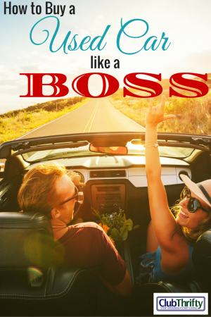 Have you ever wondered what it takes to buy a used car like a BOSS? Check out this sweet guest post to find out how.