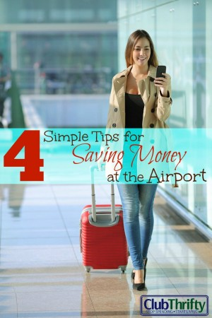 Saving money at the airport can be tough. Failure to plan can bust your vacation budget before you even go. Use these 4 simple tips to stay on track!