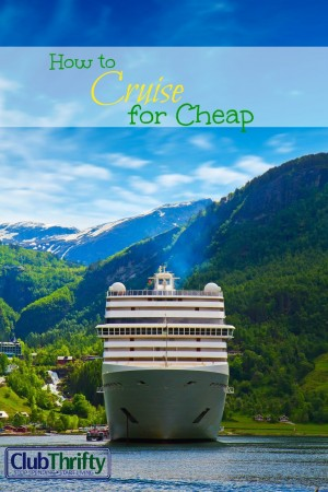 Cruising can be expensive if you don't look for the right deals. Fortunately, there are plenty of ways to cruise for cheap. Find out how inside!