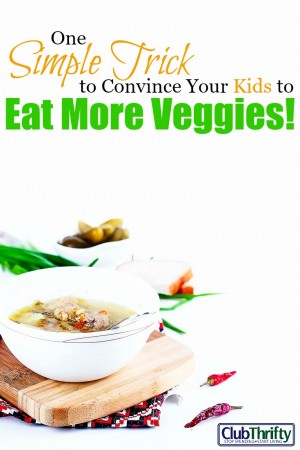 Want to know how I got my kids to eat more vegetables? Click here and learn the simple trick I use to get them to eat veggies. Brace yourself! It's a doozy!