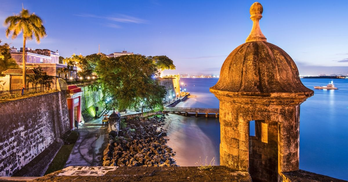 Great Reasons You Should Visit Puerto Rico - picture of Puerto Rico fort at sunset