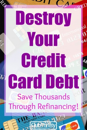 Debt sucks, and it's holding you back from the financial freedom you crave. Learn how refinancing credit cards can help you pay your debt off faster!