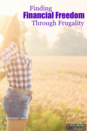 Yep, I'm tight with money. Guilty as charged...but cheap? Nah. I'm just using frugality to forge my path to financial freedom. You can too. Here's how!