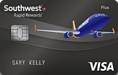 Southwest Airlines Rapid Rewards Plus Card