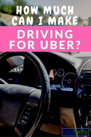 When Do Uber Drivers Get Paid >> How Much Does an Uber Driver Get Paid? | Club Thrifty