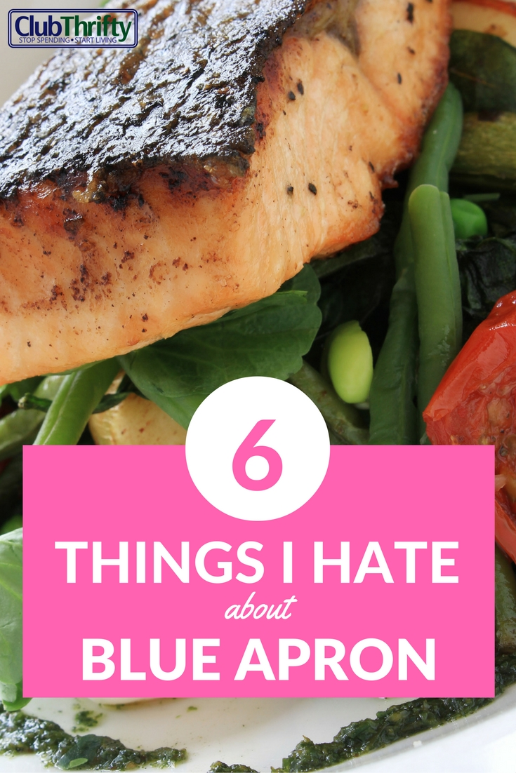 Sorry Blue Apron lovers... I freaking hated it. Here's why.