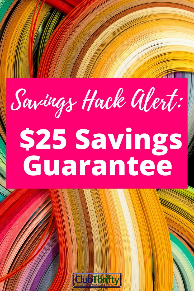 Check out one of my favorite new money saving hacks. Learn how to earn $25 by submitting coupons through the Coupons.com Savings Guarantee!
