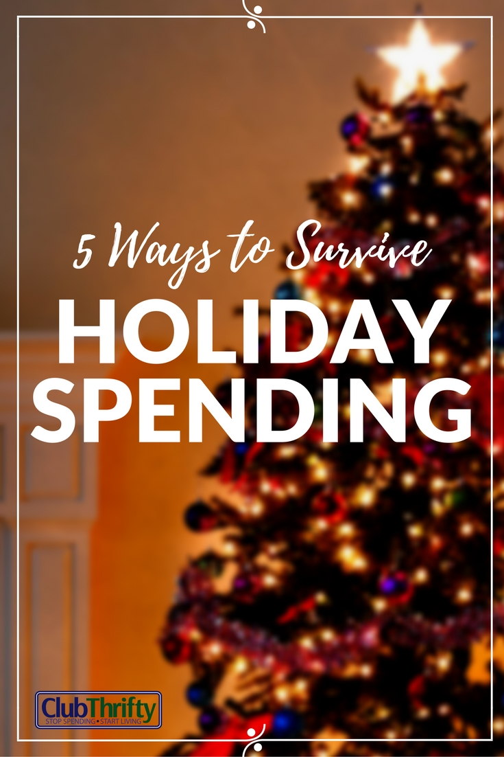Here are 5 great tips for surviving the holidays with money left in your bank account!