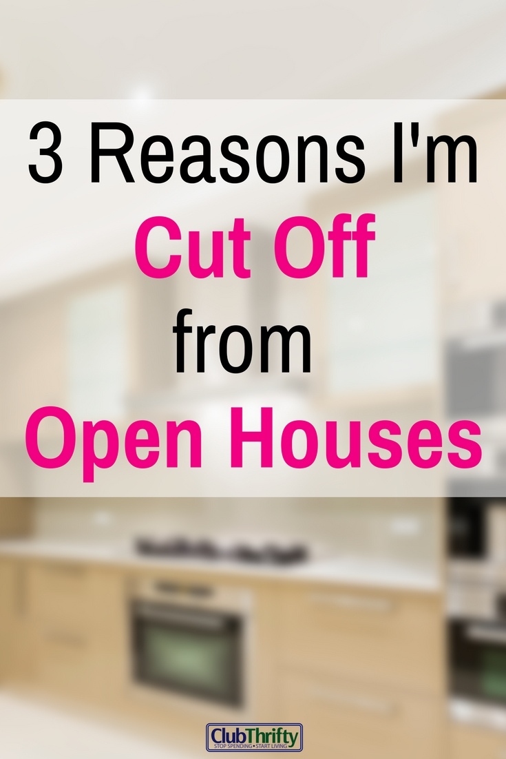 I admit it. I have a problem. Honestly, I thought I could cure my addiction to real estate and save money by attending open houses. I was wrong.