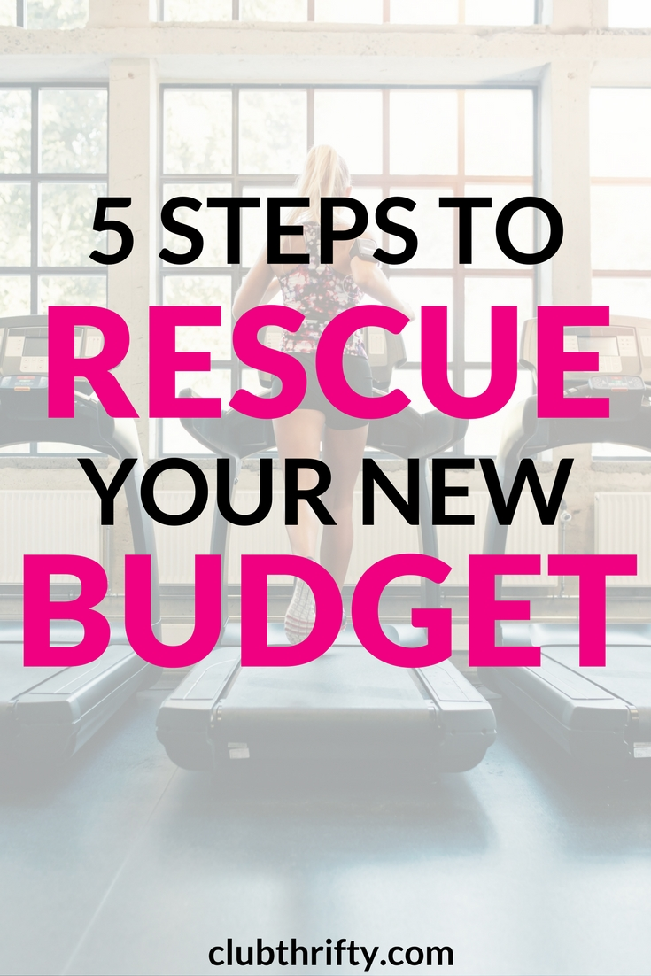 Did you make a New Year's money resolution? This time of year, they get tough to keep. Use these 5 steps to rescue your new budget and reach your goals!