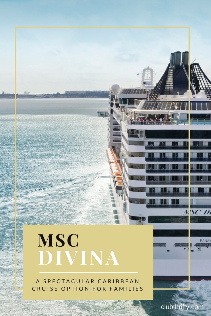 The MSC Divina is beautifully conceived, relatively new cruise ship that departs from Miami and sails to ports throughout the Caribbean. In this MSC Divina review, we discuss our experience on the ship to help you decide if this Caribbean cruise is a good option for your travel plans.