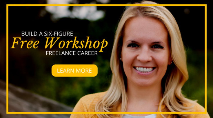 register for freelance writing workshop