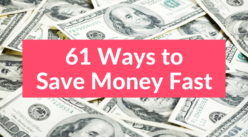 61 Simple Ways to Save Money Fast | Club Thrifty