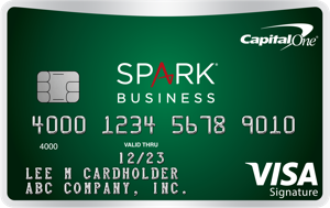 Capital One Spark Cash for Business Card