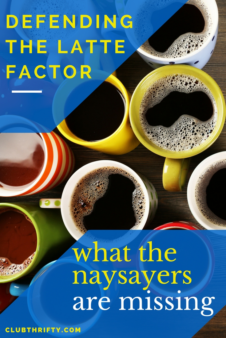 """Can you actually get rich by skipping your daily coffee? Many say """"no."""" I think they're wrong. Here's why discovering your latte factor really does matter to your money."""