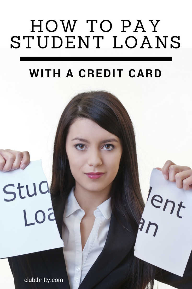 Can you really pay your student loans with a credit card? Yes, you can. It's not ideal for every situation, but paying student loans with a credit card can help you earn thousands of rewards points that can be used for travel, gift cards, and more. Learn how to do it the right way here.