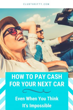 Think you can't pay cash for a car? Think again! Here are four simple steps that will help you pay cash for your next car. Enjoy!