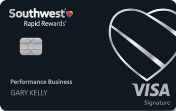 image of the southwest rapid rewards performance business credit card