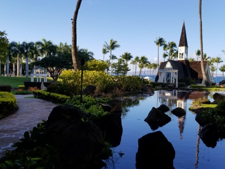 Grand Wailea - chapel and landscaping