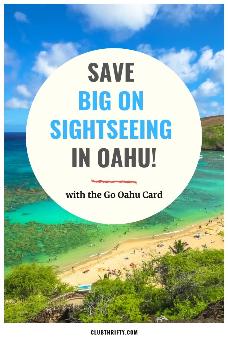 Go Oahu Card Pin - Photo of Oahu Beach