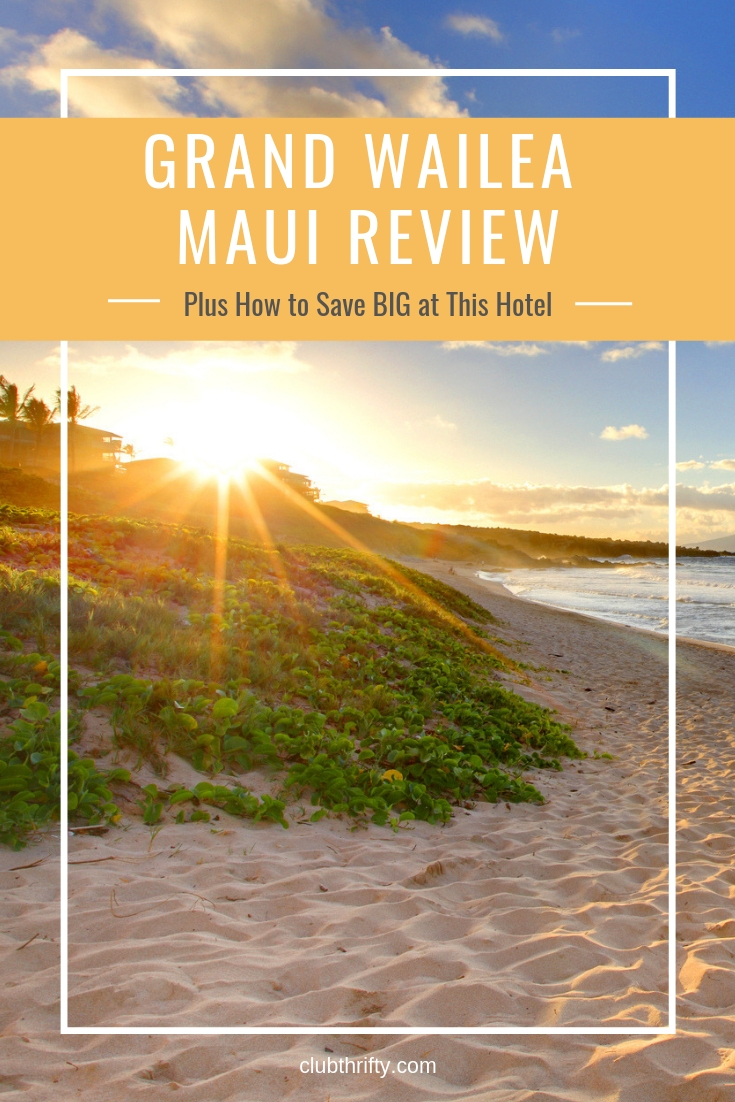 The Grand Wailea resort in Maui is one of the most beautiful properties I've ever visited. Learn how you can stay there for less in this review!