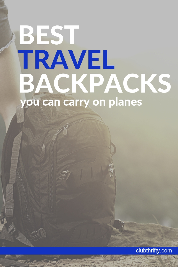 "image of ""best travel backpacks"" - backpack on mountain"