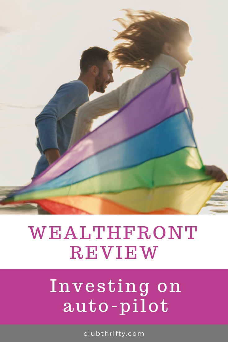 Wealthfront Review - photo of couple on beach with kite