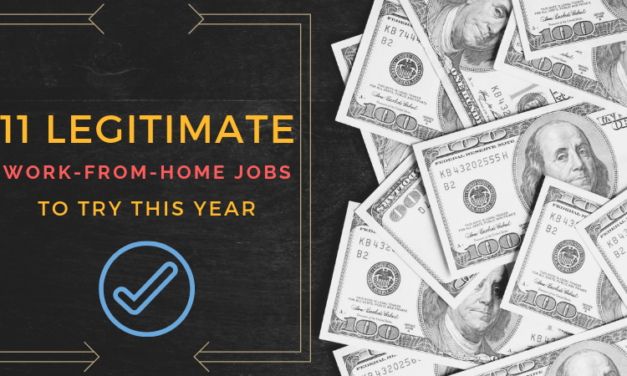 11 Legitimate Work-from-Home Jobs for 2019