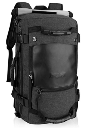 best travel backpacks - photo of Ibagbar Canvas Backpack