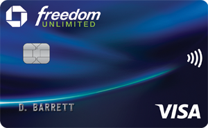 Chase Freedom Unlimited Card image