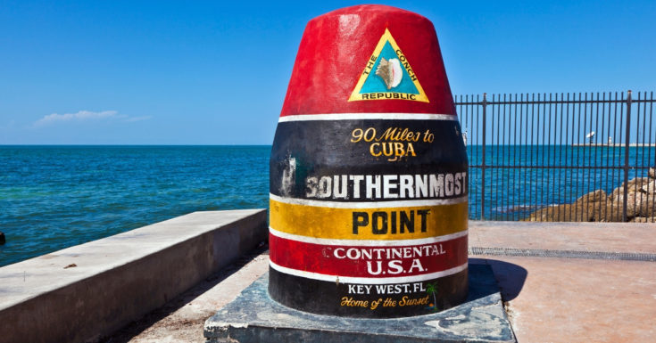 Go Miami Card - picture of Key West southernmost point buoy