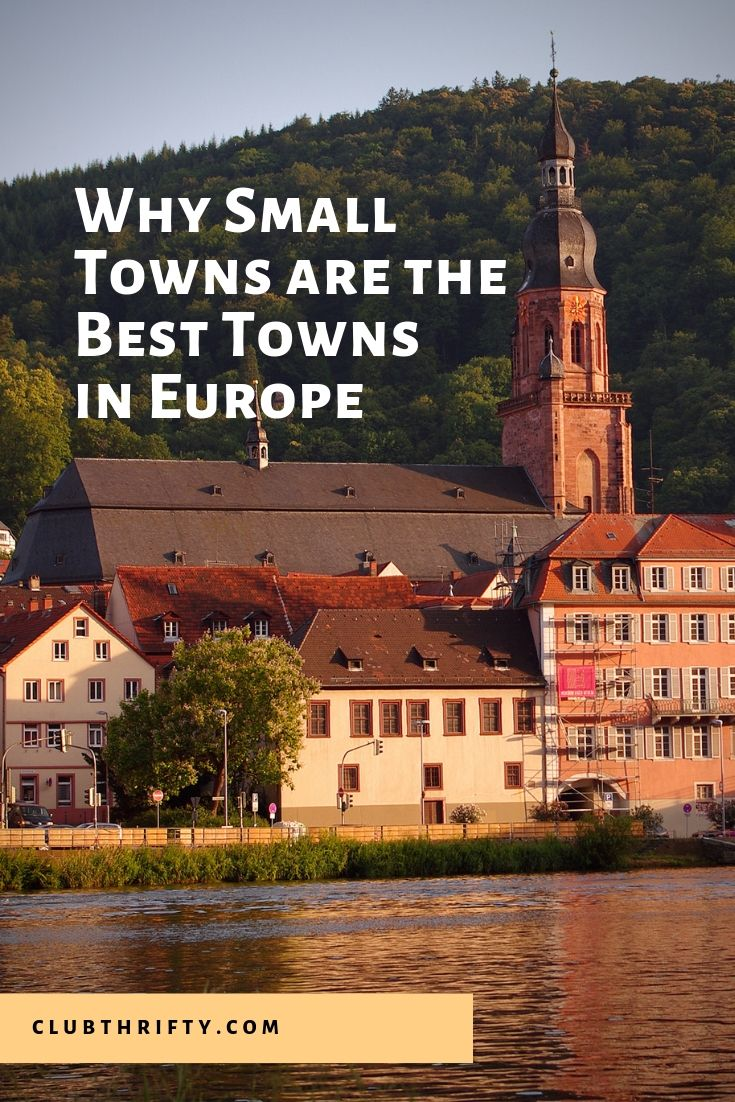 Small European Towns are Best Pin - picture of small German town