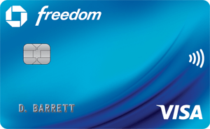 image of Chase Freedom Card