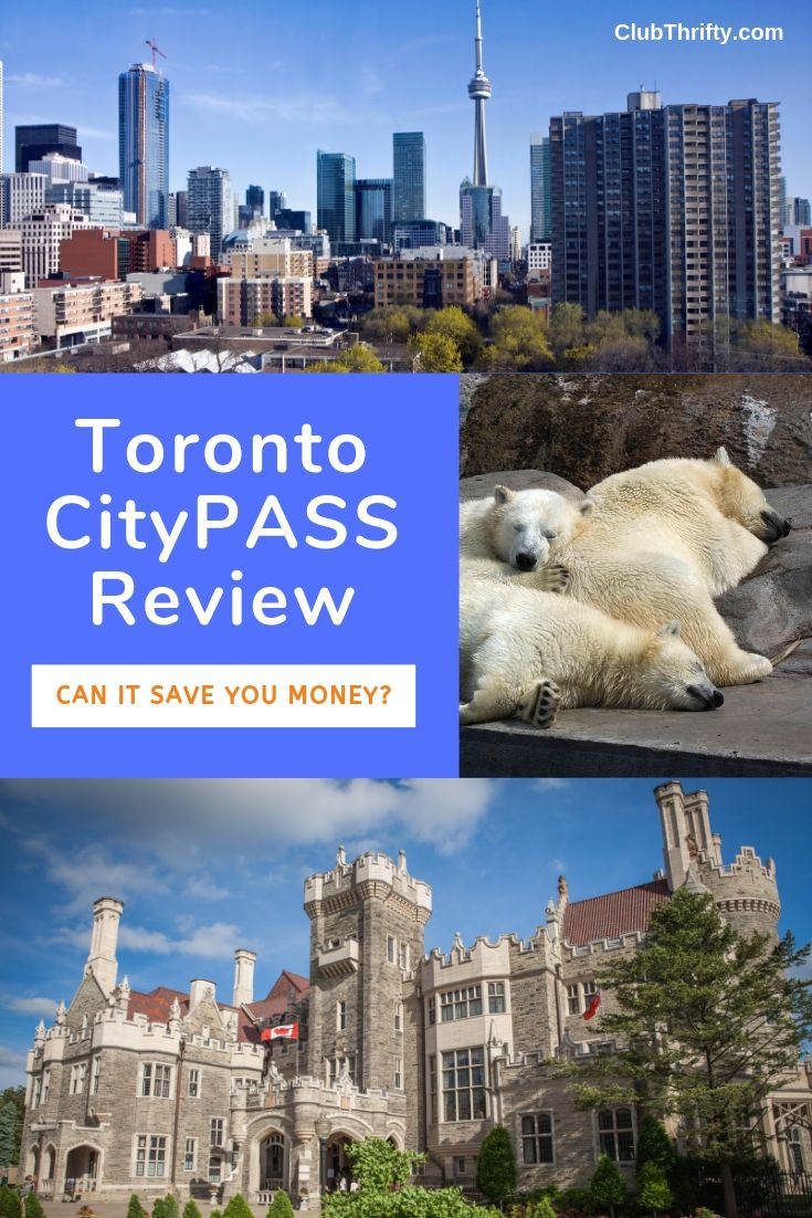 Toronto CityPASS Review Pin - pictures of Toronto