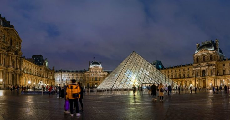 5 Paris Attractions Not to Miss - picture of Louvre Museum