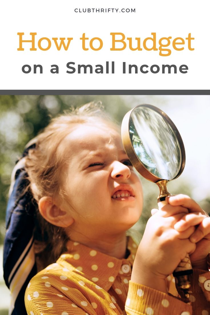 How to Budget on a Small Income