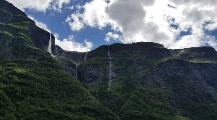 Photo of waterfall in Norway
