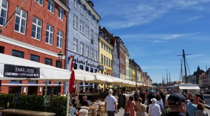 Photo of Nyhavn in Copenhagen, Denmark