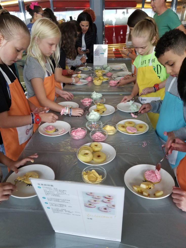 photo of kids cooking