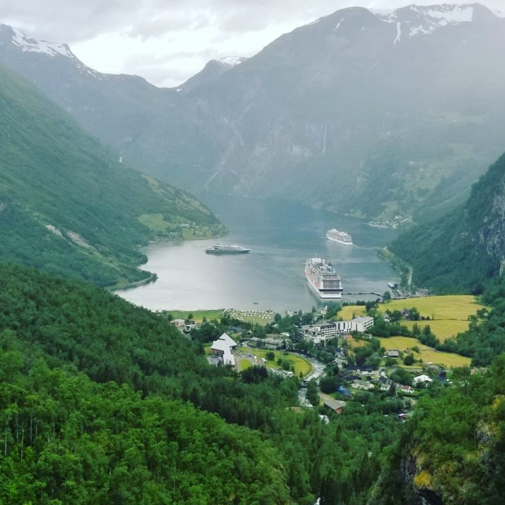 photo of Geiranger, Norway