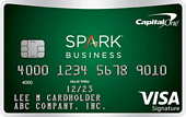 image of the Capital One Spark Cash for Business Credit Card
